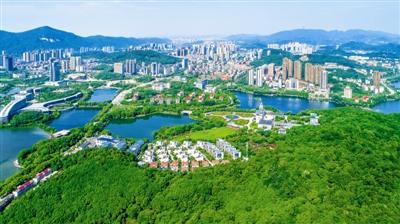 我国已建成166个国家森林城市图片